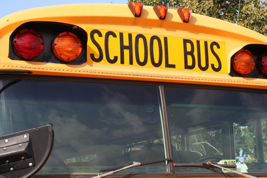 John and I ditch the school bus and learn non-conformity