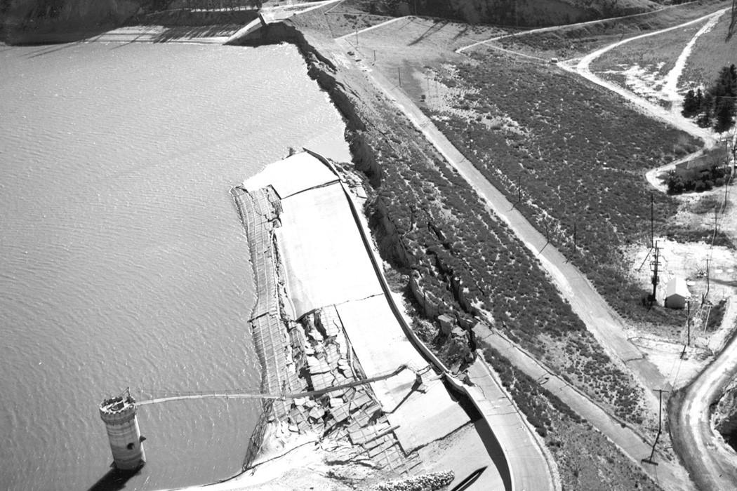The Van Norman Dam