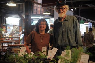 From the Goshen Farmers Market: Dale and Jo Beachy-Hasenick