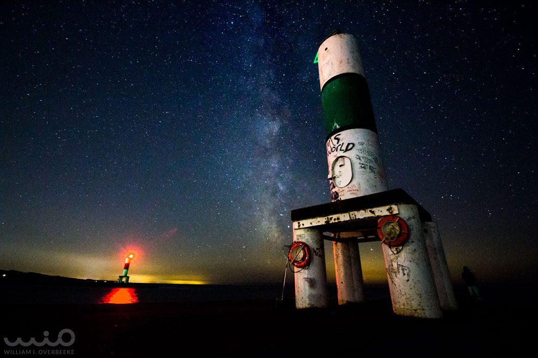 Holland Pier at Night