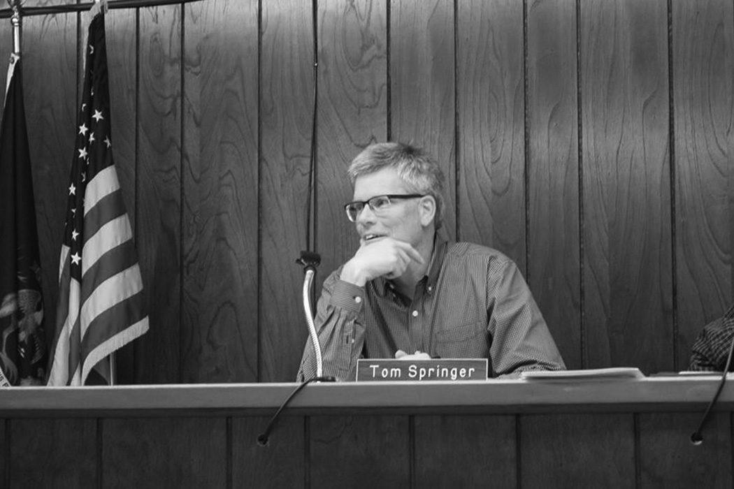 Meet the government: Tom Springer